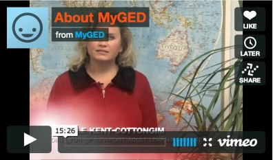 Welcome to MyGED.org