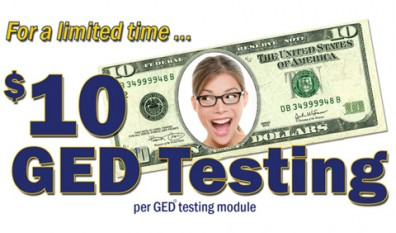 Discounted GED Testing